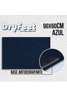 Tapete Dryfeet Azul 90X60Cm