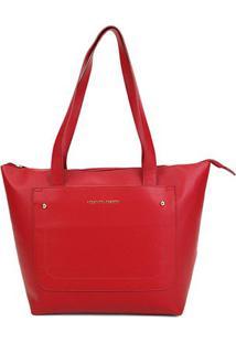 Bolsa Loucos & Santos Shopper Floater Soft Feminina - Feminino-Vermelho
