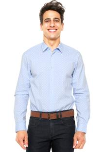Camisa Richards Pasley Azul