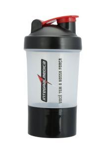Coqueteleira Shaker Integralmédica - 400Ml - 2 Doses