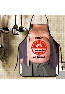 Avental Personalizado Tecido Microfibra Estampada - Perdidão