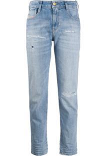 Diesel Calça Jeans Slim D-Rifty - Azul