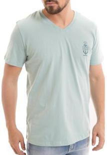 Camiseta Osmoze Âncora - Masculino-Verde
