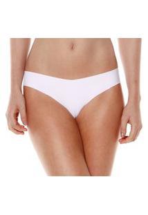 Calcinha Sem Costura Branco Make - 406.022 Marcyn Lingerie Básica Branco