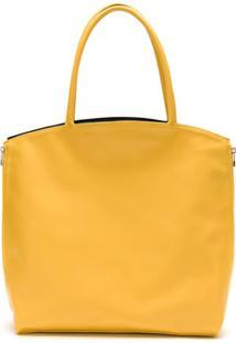 Lygia & Nanny Bolsa Tote Essencial - Amarelo