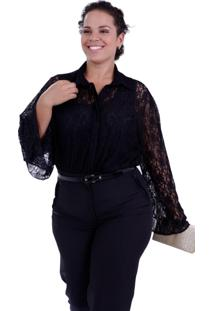 Twin Set Vickttoria Vick Filipa Renda Plus Size