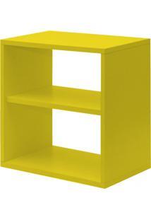 Nicho Cubo Com Prateleira Lema Para Quarto Infantil Kit Cubos Baby Bramov Móveis Amarelo