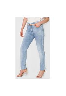 Calça Jeans Maria Valentina Skinny Julia Azul