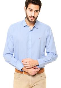 Camisa Aramis Slim Azul
