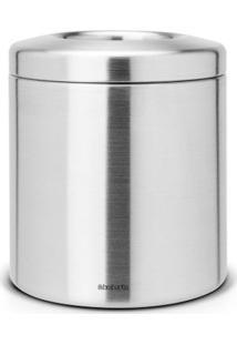 Lixeira De Mesa Em Aço Inox 1 Litro Profile Brabantia