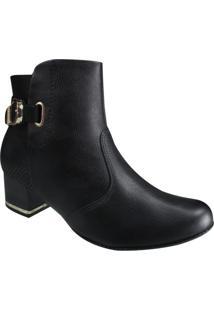 Bota Ankle Boot Comfortflex Feminina