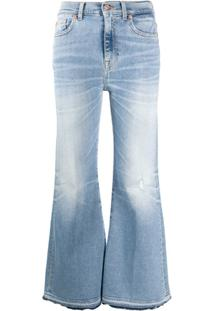 7 For All Mankind Calça Jeans Flare Bootcut - Azul