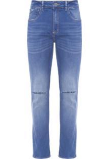 Calça Masculina Skinny Coig - Azul