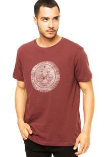 Camiseta Richards Noblest Vinho