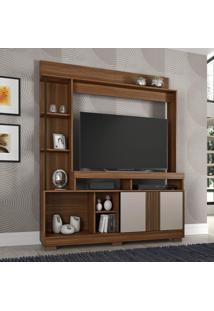 Estante Para Tv Até 49 Polegadas Sedução Candian Jcm Móveis Rovere/Off White