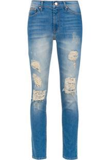 Amapô Calça Jeans Skinny Rocker Two - Azul
