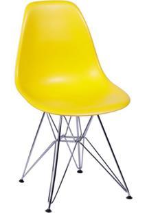 Cadeira Eames I Amarela