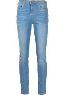 Emporio Armani Calça Jeans Slim - Azul