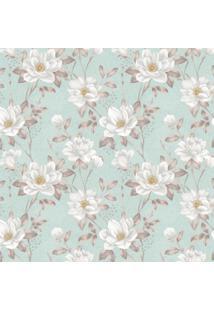 Papel De Parede Stickdecor Adesivo Floral Rosas Brancas 3Mt A 1,00Mt L