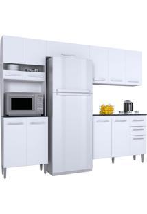 Cozinha Compacta 4 Peças Karina -Poquema - Branco