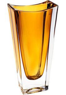 Vaso Ecológico Okinawa- Cristal & Amarelo Escuro- 30Rojemac