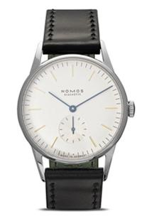 Nomos Glashütte Relógio 'Orion' 45Mm - White, Silver-Plated