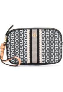 Tory Burch Clutch 'Gemini' - Preto
