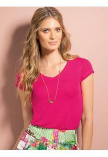 Blusa Básica Pink