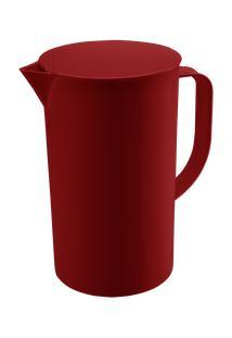 Jarra Com Tampa Casual 15 X 10,7 X 17,9 Cm 1 L Vermelho Bold Coza