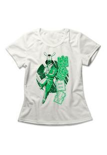 Camiseta Feminina Yu Yu Hakusho Yusuke Urameshi Off-White