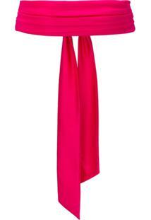 Pinko Cinto De Amarração - Rosa