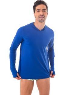 Camisa Uv.Action Com Proteção Solar Com Capuz E Luva - Masculino - Masculino