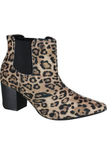 Bota Via Marte Ankle Boot Feminina