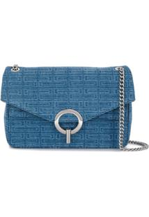 Sandro Paris Yza Shoulder Bag - Azul