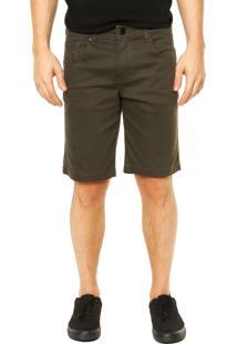 Bermuda Jeans Hurley 84 Slim Verde