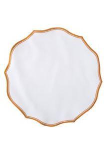 Jogo Americano Provence Redondo - Branco