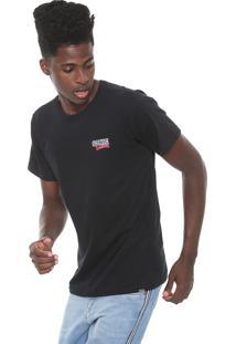 Camiseta Tectoy Sonic Hedgehog Classic Front Brand Preta
