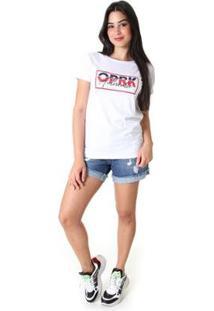 Shorts Opera Rock Jeans Feminina - Feminino