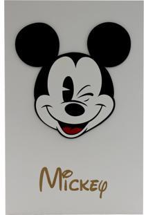 Quadro Zona Criativa Mickey Cinza