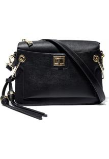 Bolsa Renata Small Black (Black, Un)