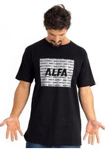 Camiseta Alfa Space - Masculino