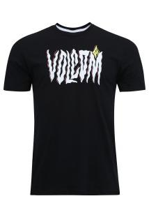 Camiseta Volcom Silk Steam - Masculina - Preto