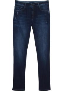 Calca Jeans Dark Blue Puidos (Jeans Medio, 46)