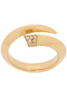 Shaun Leane Anel Sabre De Diamante - Dourado