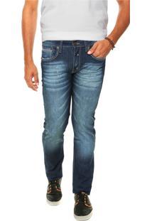Calça Jeans Colcci Detalhes Azul
