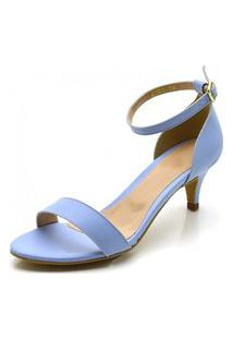 Sandália Salto Fino Gisela Costa Azul Serenity
