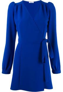 P.A.R.O.S.H. Vestido Envelope - Azul