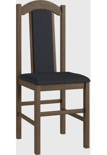 Cadeira Mad 500 Par Marrom Móveis Canção