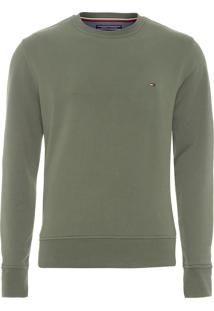 Blusa Masculina Basic Sweatshirt - Verde