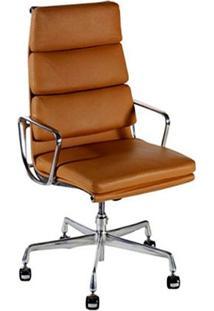 Cadeira Com Braços Giratória Soft Ea219 Executiva Cremon Design By Charles & Ray Eames